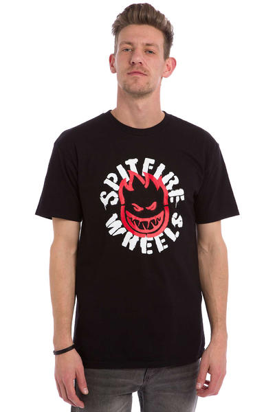Spitfire Flammable Material T-Shirt (black)