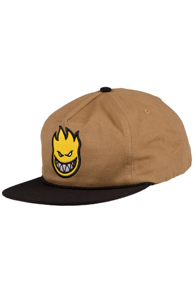Spitfire Bighead Fill Snapback Cap (light brown black)