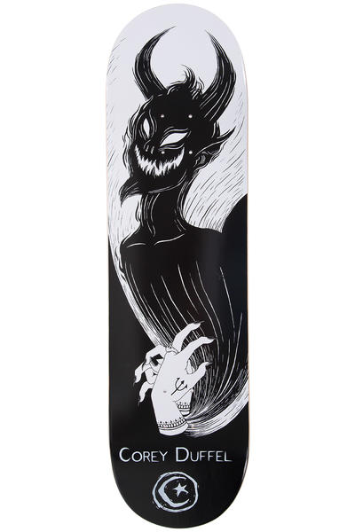 "Foundation Duffel Shadow Puppet 8.25"" Deck (white black)"