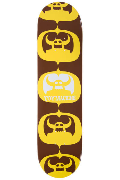 "Toy Machine Matokie II 7.875"" Deck (yellow brown)"