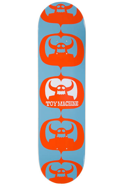 "Toy Machine Matokie II 8.125"" Deck (orange blue)"