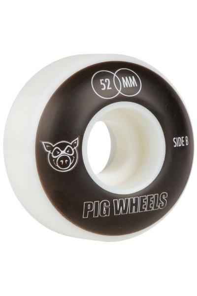 Pig Vertigo 52mm Rueda (black white) Pack de 4