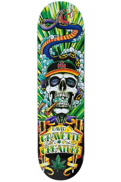 "Creature Gravette Hippie Skull 8.25"" Deck (multi)"