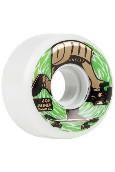 OJ Wheels Miner Keyframe 56mm Wheel (white) 4 Pack