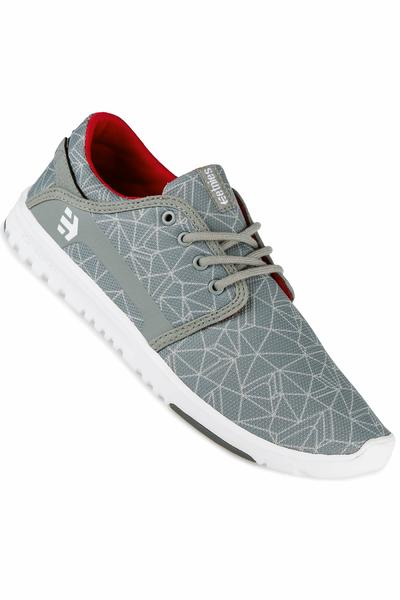 Etnies Scout Schuh (grey light grey red)