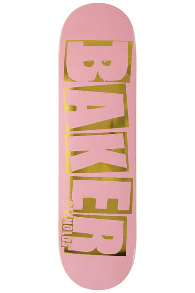 "Baker Reynolds Brand Name 8.5"" Deck (pink gold)"