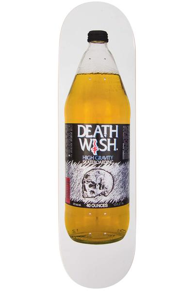 "Deathwish Crooked I 8.38"" Deck (white)"