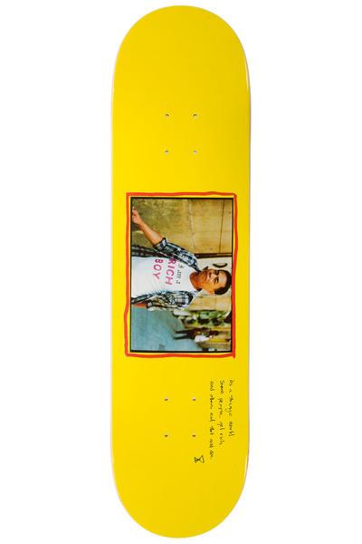 "Sour Skateboards Team Rich Boy 8.18"" Deck (yellow)"