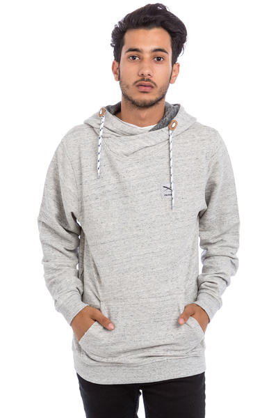 Iriedaily Chamisso Layer sweat à capuche (grey melange)