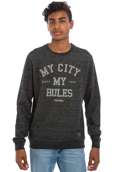 Iriedaily Chamisso City Sweatshirt (black anthracite)
