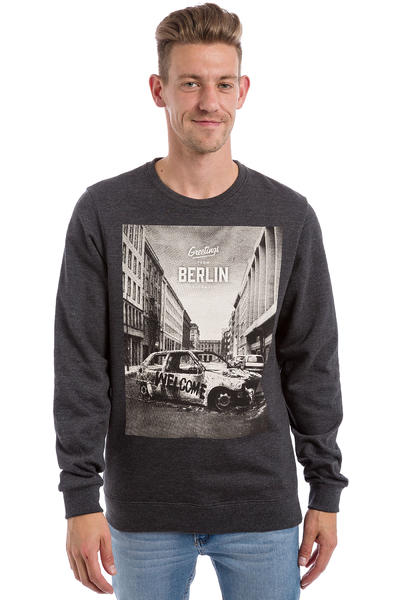 Iriedaily Greetings Sweatshirt (anthracite melange)