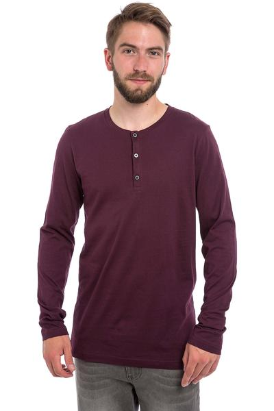 Iriedaily Henley Longues Manches (red wine)
