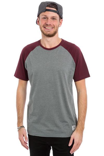 Iriedaily Rugged T-Shirt (maroon melange)