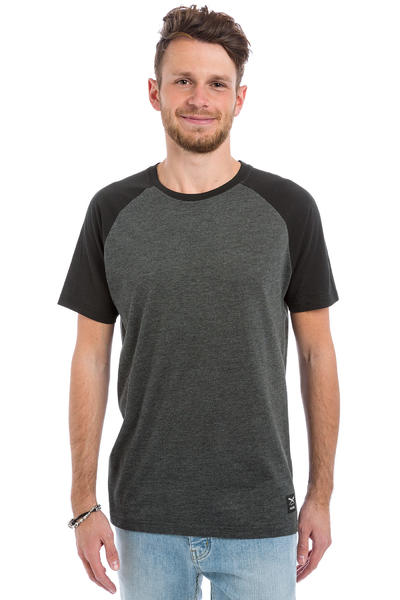 Iriedaily Rugged T-Shirt (black anthracite)