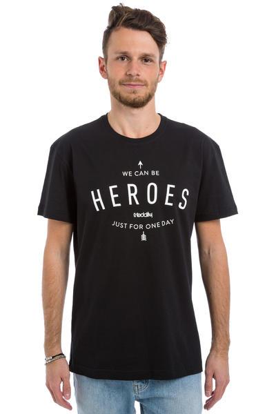 Iriedaily Heroes T-Shirt (black)