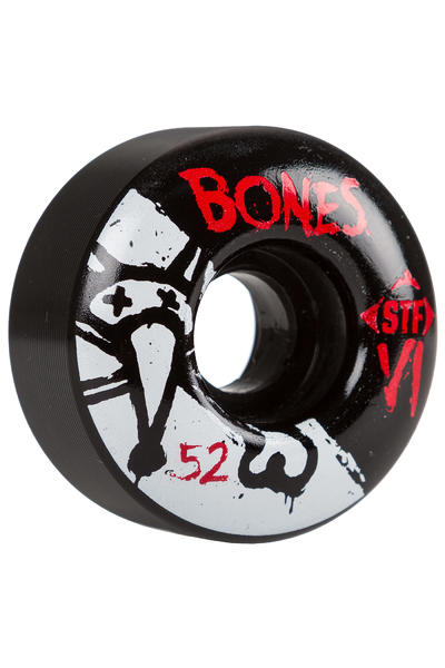 Bones STF-V1 Series II 52mm Rollen (black) 4er Pack