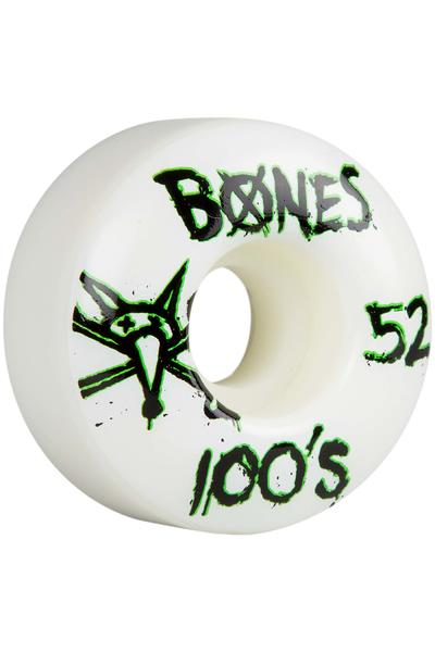 Bones 100's-OG #14 Slim 52mm Wheel (white) 4 Pack