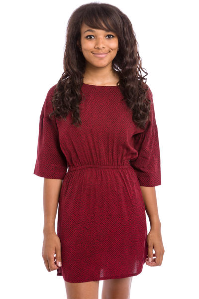 Iriedaily Jamy Dress women (bordeaux red)