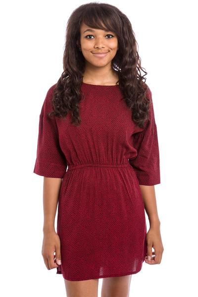 Iriedaily Jamy Kleid women (bordeaux red)