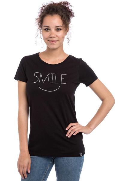 Iriedaily Smiling T-Shirt women (black)