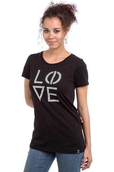 Iriedaily Lovelive T-Shirt women (black)
