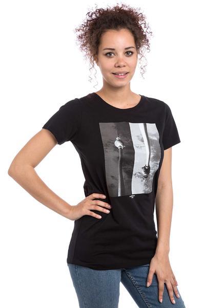 Iriedaily Topsy Turvy T-Shirt women (black)