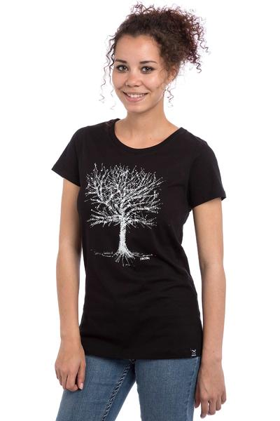 Iriedaily Stamp Tree T-Shirt women (black)