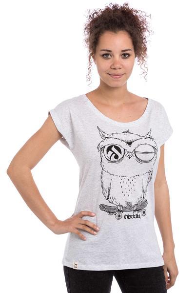 Iriedaily Skateowl 2 T-Shirt women (white melange)