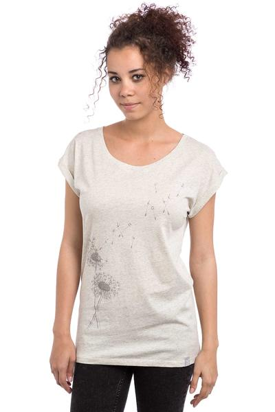 Iriedaily Pusteblume T-Shirt women (ecru melange)