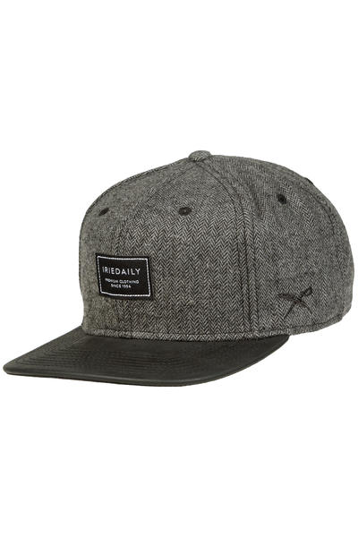 Iriedaily City Dude Snapback Cap (anthracite melange)