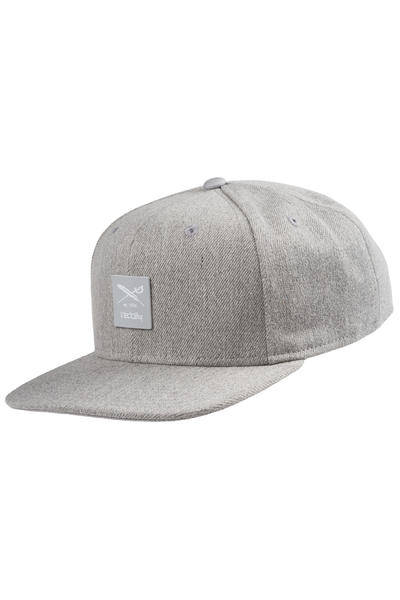 Iriedaily Exclusive Flag Snapback Cap (grey melange)