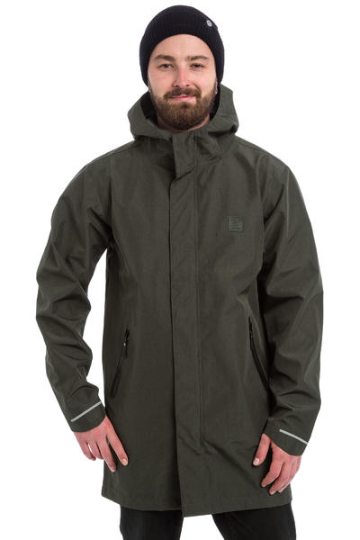 Iriedaily Mark Coat Jacke (black melange)