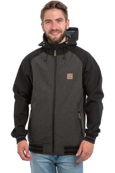 Iriedaily Fusion College Jacke (dark brown)