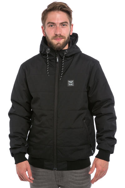 Iriedaily City Arctic Melange Jacke (black)