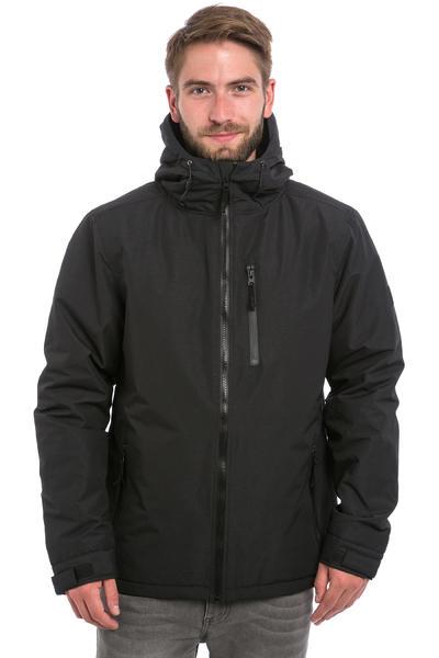 Iriedaily Insulaner Melange Anorak Jacket (black melange)
