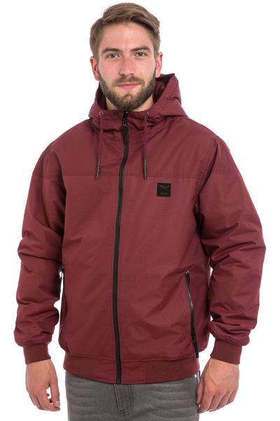 Iriedaily Insulaner Melange Jacket (maroon melange)