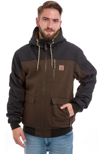 Iriedaily Dock36 Worker Chaqueta (dark brown)