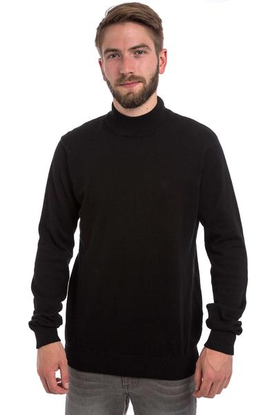 Iriedaily Patch Mock Sweatshirt (black)