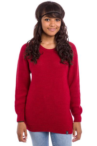 Iriedaily Jazzie Sweatshirt women (carmine red)