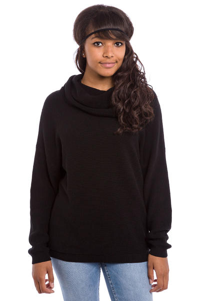 Iriedaily Mock Turtle Sweatshirt women (black)