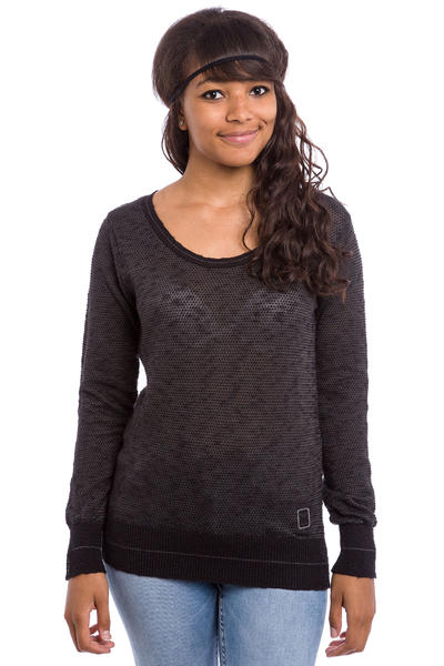 Iriedaily Biquet Sweatshirt women (black melange)