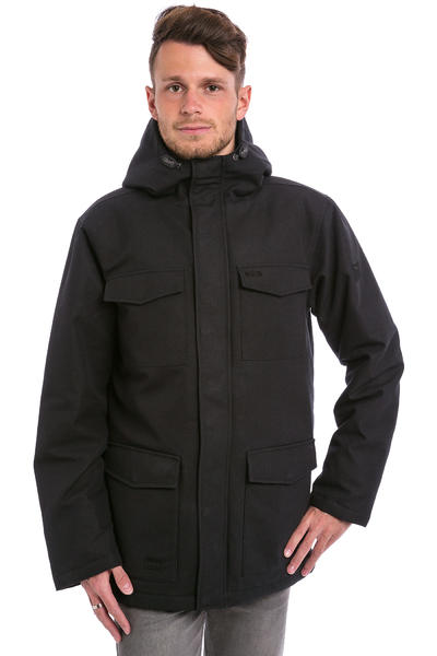 Iriedaily Tech Dock 36 Parka Jacke (black)