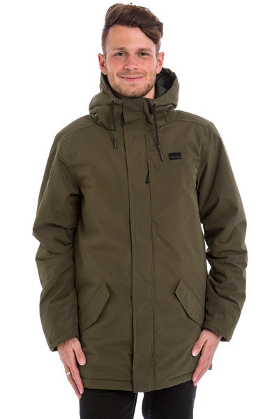 Iriedaily Nilas Coat Jacket (dark olive)