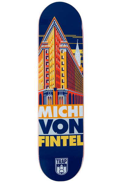 "Trap Skateboards MvFintel City series 8"" Deck"