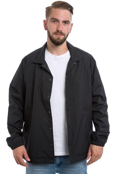 Converse Nylon Ripstop Coach Jacket (converse black)