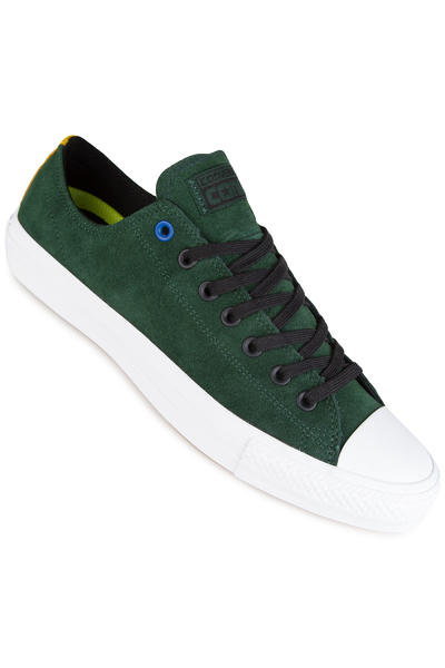 Converse CTAS Pro Shoe (deep emerald black white)