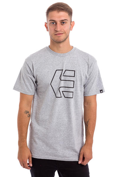Etnies Icon Outline T-Shirt (grey heather)