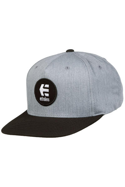 Etnies Rook Snapback Cap (grey heather)