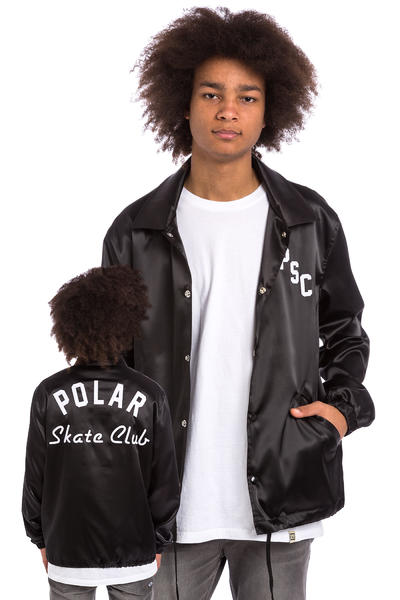 Polar Skateboards Skate Club Jacke (black)