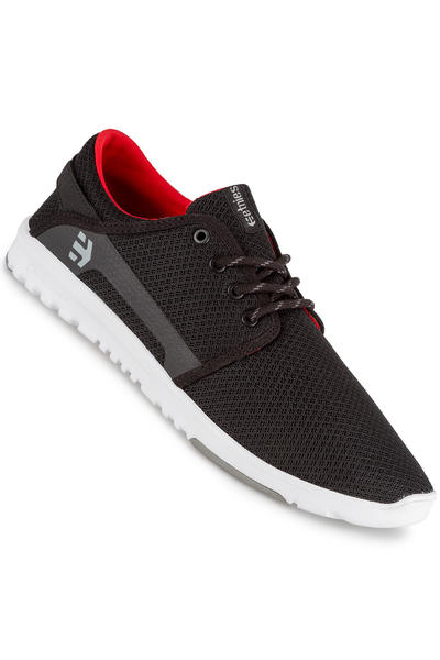 Etnies Scout Schuh (black grey red)